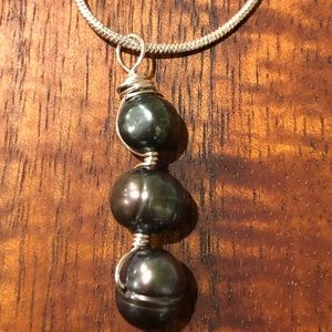 Jewelry - Tahitian Black Pearl Necklace